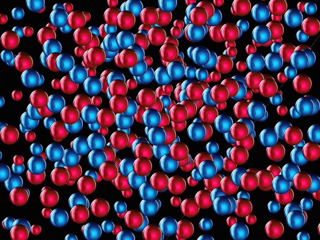 vidrio azul rojo